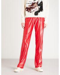 Gucci - Sequin-embellished Satin Jogging Bottoms - Lyst