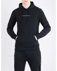 Criminal Damage - Orie Dragon-embroidered Cotton-jersey Hoody - Lyst