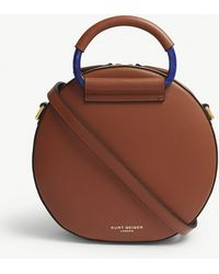Kurt Geiger - Harriet Round Leather Cross-body Bag - Lyst