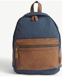 ALDO - Denim Backpack - Lyst