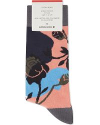 Björn Borg - Winter Floral Cotton-blend Socks - Lyst