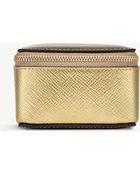 Smythson - Panama Leather Medium Trinket Case - Lyst