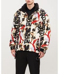 Burberry - Baroque-print Padded Shell Jacket - Lyst