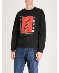 McQ - Jungle Fever Printed Jersey Sweatshirt - Lyst