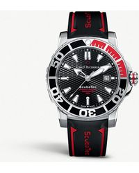 Carl F. Bucherer - 00.10632.23.33.02 Patravi Scubatec Stainless Steel And Rubber Watch - Lyst