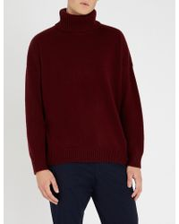 The Kooples - Turtleneck Wool And Cashmere-blend Jumper - Lyst