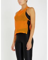 Koral - Optium Stretch-mesh Top - Lyst