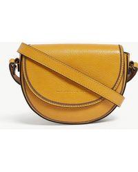 Brunello Cucinelli - Pebbled Leather Half Moon Belt And Shoulder Bag - Lyst