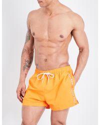 CALVIN KLEIN 205W39NYC - Logo-print Crepe Swim Shorts - Lyst