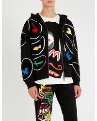 Haculla - Appliqué-detail Cotton-jersey Hoody - Lyst