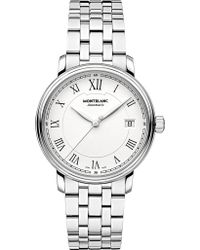 Montblanc | 112632 Tradition Stainless Steel Watch | Lyst