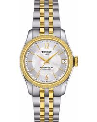 Tissot - T1082082211700 Ballade Stainless Steel Automatic Watch - Lyst