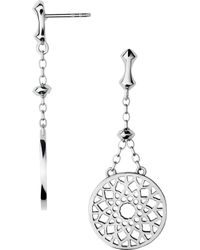 Links of London - Timeless Sterling Silver Earrings - Lyst
