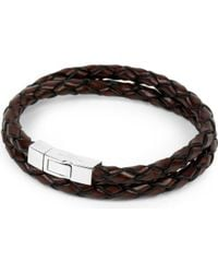 Tateossian - Scoubidou Leather Bracelet - Lyst