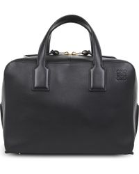 Loewe Goya Leather Briefcase