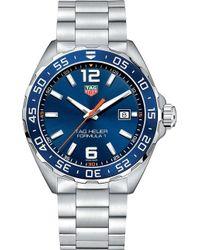 Tag Heuer - Waz1010ba0842 Formula 1 Stainless Steel Blue Mens - Lyst