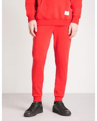 Criminal Damage - Hiber Cotton-fleece Jogging Bottoms - Lyst