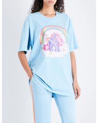 Moschino - My Little Pony Cotton-jersey T-shirt - Lyst