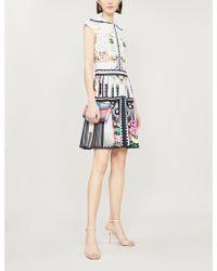 Mary Katrantzou - Arden Graphic-print Stretch-knit Mini Dress - Lyst