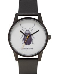 Unknown | Natural Science Coleoptera Alloy And Leather Un14ns09 Watch | Lyst