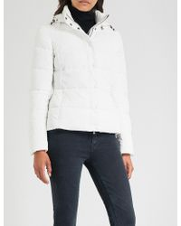 Emporio Armani - Stand-collar Padded Coat - Lyst