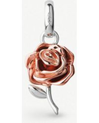 Links of London - Rose Sterling Silver And 18ct Rose Gold-vermeil Charm - Lyst