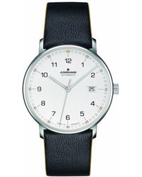 Longines - Form Leather And Stainless Steel Watch - Lyst