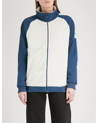The North Face - Logo-embroidered Fleece And Shell Jacket - Lyst
