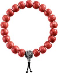 Thomas Sabo - Rebel At Heart Beaded Bracelet - Lyst