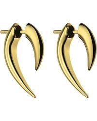 Shaun Leane - Sterling Silver And Gold Vermeil Talon Earrings - Lyst