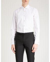Paul Smith - Honeycomb Slim-fit Cotton Evening Shirt - Lyst