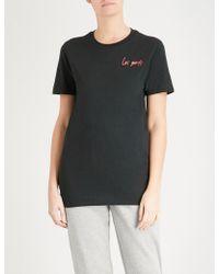 Les Girls, Les Boys | Logo-print Cotton-jersey T-shirt | Lyst