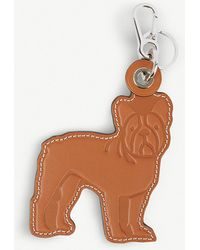 Loewe - Bulldog Leather Keyring - Lyst