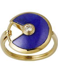 Cartier - Amulette De 18ct Yellow Gold - Lyst