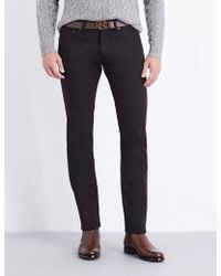 Ralph Lauren Purple Label - Slim-fit Tapered Jeans - Lyst