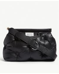 184f3659f044 Lyst - Bottega Veneta Intrecciato Leather Double-zip Pillow Bag