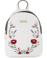 ALDO - Triria Embroidered Floral Backpack - Lyst