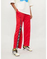 Fila - Alice Popper-fastened Jersey jogging Bottoms - Lyst · Champion - All  Over Print ... e91ad04e7e