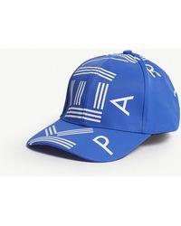 KENZO - Logo Nylon Baseball Cap - Lyst