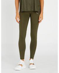 PUMA - Always On 7/8 Stretch-jersey leggings - Lyst