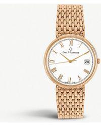 Carl F. Bucherer - 00.10301.03.21.22 Adamavi 18ct Rose-gold Watch - Lyst