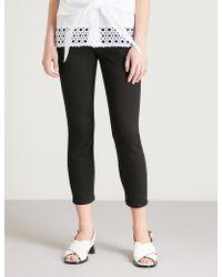 Claudie Pierlot - Slim-fit Skinny Mid-rise Jeans - Lyst