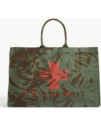 A.F.Vandevorst - We Can Dance Cotton Beach Bag - Lyst