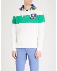 Polo Ralph Lauren - Cp-93 Striped Cotton-jersey Hoody - Lyst