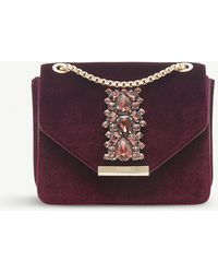 Dune - Everlie Diamante-embellished Shoulder Bag - Lyst