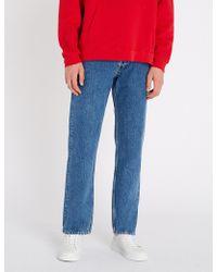 Sandro - Regular-fit Straight-leg Jeans - Lyst