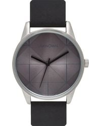 Unknown - Urban Stainless Steel And Leather Un14ub01 Watch - Lyst
