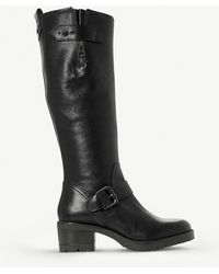 Dune - Tilburn Leather Boots - Lyst
