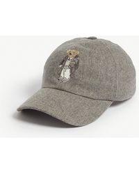 Ralph Lauren Purple Label - Polo Bear Wool-blend Baseball Cap - Lyst