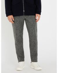 Falke - Two-tone Woven Jogging Bottoms - Lyst